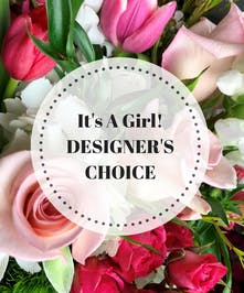 Allow our designers to custom create a special gift for your new baby girl!