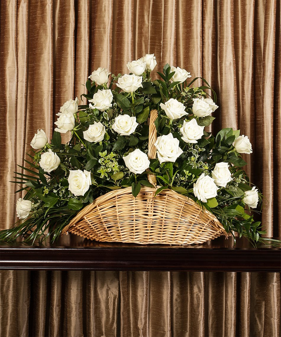 WHITE ROSE FIRESIDE - Flower Products,Boyds Flower Connection.Flower ...