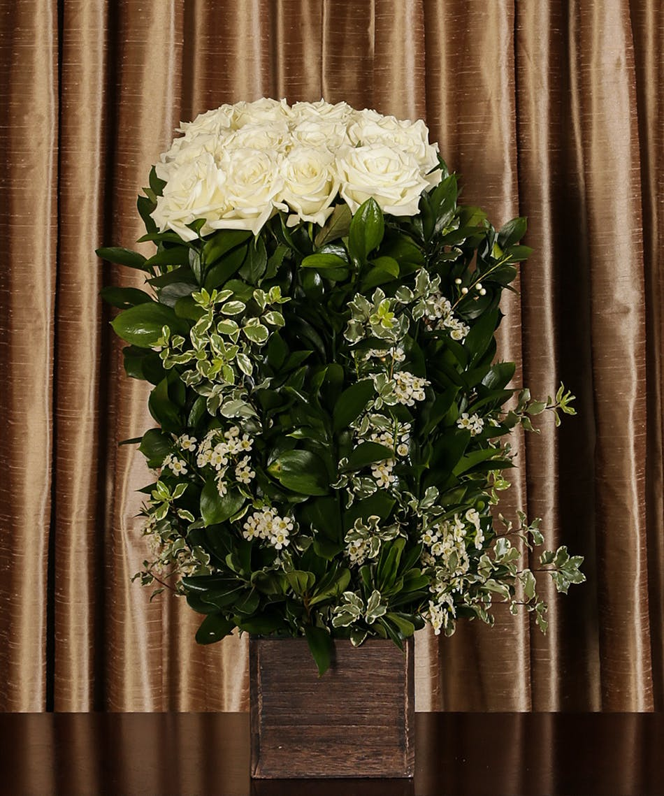 White rose hedge flower productsboyds flower connectionflower flower delivery send flowers wilmington newarkdelaware de boyd s flower connection local wilmington flowers and florists izmirmasajfo